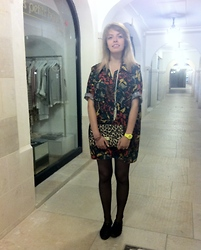 Lena Berthu - H&M Necklace, H&M Bag, Shoes, Casio Swatch Baby G - Remembeer !