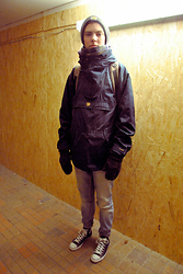 Mads Thuelund - Carhartt Hat, Fjällräven Anorak Jacket, Tiger Of Sweden Jeans, Converse Chucks, Dunno Glove Things - From Odense City, Funen, Denmark to you guys!
