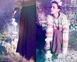 AMINTA ONLINE - Vintage Sweater, Vintage Dress - BE THE LIGHT ...by amintasfashion