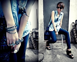 Janine Ramos - Mags Wedges, Kultura Ring - Once in a blue moon