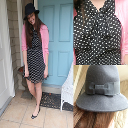 Maddy C. - Forever 21 Dress, Forever 21 Hat, J.Crew Sweater - Let's travel together