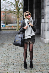 Sofie V. - Topshop, Prada Bag, Zara Shoes - Wintercoat and high heels