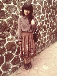 Deliuxie - Tribal Skirt - I was born to be vintage :p