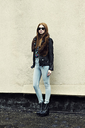 Filippa Smeds - Cheap Monday Jeans, Jeffrey Campbell Shoes - Second Skin