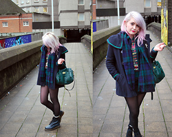 Tori West - Urban Outfitters Coat, Mulberry Bayswater Heritage Satchel - Feet don't fail me now