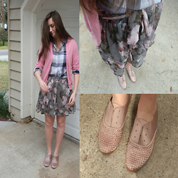 Maddy C. - J.Crew Sweater, Forever 21 Forever21 Shirt, Steve Madden Oxfords - Sparkly Oxfords