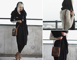 Therese Ahlström - Cubus Skirt, Humana/Second Hand Bag, V Ave Shoe Repair Scarf, Jeffrey Campbell Shoes - LAZY AFTERNOONS