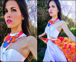 Ms. Ortiz - Roxypower Floral Necklace - Floral Mix!!
