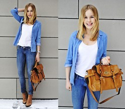 Frida Johnson - Monki Shirt, Bag - JEANS + JEANS