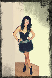 Cam Jay - Tally Weijl Corset, Handmade Tutu - Want U 2 make me feel..like I'm the only girl in the world..