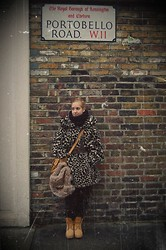 Noemie Von Mises - Vintage Fur Coat From My Mother, Blanco Bag, Timberland - Thinking about what Vintage things I was going to buy