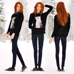 Ebba Zingmark - Sweaters, Shirt, Jeans, Shoes - SEQUIN LEO