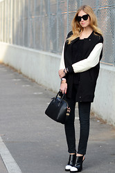 Chiara Ferragni - Givenchy Bag, Alexander Wang Booties - Baseball coat