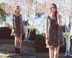 Bethany Struble - Snake Print Dress - Snake Plus GIVEAWAY