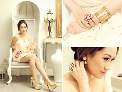 Laureen Uy - H&M Dress, Chanel Earrings, Feet For A Queen Heels - Victorian (BMS)