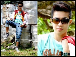 Michael John Alvarez - Hollister Tees, Puma Shoes - *I'm only me when I'm with you :))