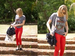 Render Sublime - Jeans, Tee, Alexander Wang Bag - Seeing Red