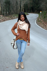 Fasionable Room By Maria - Forever 21 Pull, Blanco Jeans, Nelly Wedges, Prada Handbag, Dolce & Gabbana Watch, Pep Llasera Belt - 050212