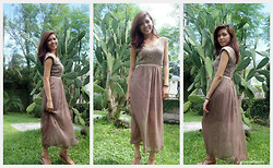 Cyress Cervantes - Mixed Berry Philippines Maxi Dress - Hello 2012
