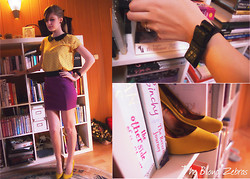 Mirka Germanova - H&M Blouse, H&M Bracelet, Primark Heels - Bookie