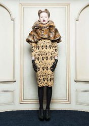 Chris Neuman -  - Leopard by Belle Sauvage FW2012