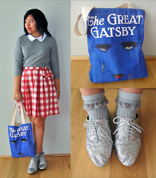 Andi D - Topshop Top, Dangerfield Skirt, Modcloth Bag, Jeffrey Campbell Shoes - Transcendent