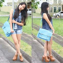 Jamsy Perez - Bayo Tank Top, People Are Clogs, Bazaar Bag - Going back