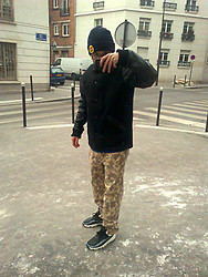 Freddy Paris - Nike Woven, Stüssy Camo Pants, Supreme Miners Jacket, Supreme Rusto Is Gusto - COLD SUNDAY