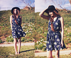 Bethany Struble - Floral Dress - Each Coming Night