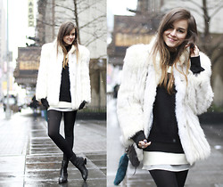 Andy T. - Alexander Wang Boots - SNOW IN NYC