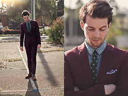 Ben Galbraith - Jack London Suit, Rdx Shirt, Jack London Tie, Asos Shoes - Around the world in 80 Hearts...