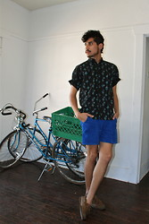 Jo Zepeda - Thrift Short Sleeve Shirt, Thrift Shorts, Thrift Shoes - Hey Wednesday .....