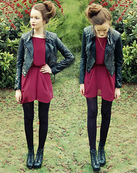 Imogen De Souza - Dress, H&M Jacket - In Love With Fashion <3