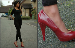 Bhavisha Somaia - Stradivarius Stiletto Heels, H&M Leggings - Let's take a stroll into wonderland...