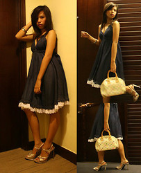 Dana Dela Torre - Dollhouse Dress, Louis Vuitton Bag - I'm knocking at your <3