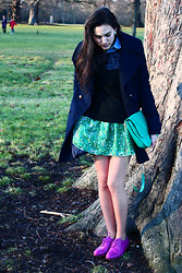 Judit Saorin - Ted Baker Oxfords, Topshop Jumper - Hyde Park morning