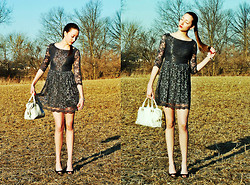 Haley Alexandra - Forever 21 Dress, Cole Haan Purse - Never Think.