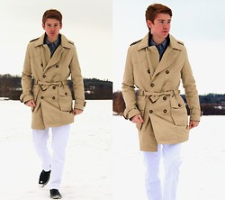 Phil Stalder - H&M Trench Coat - Cold, Windy, and Dull