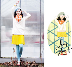 Nancy Zhang - Cos Skirt, Cos Pullover - A sweet Bonnie.