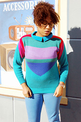 Bianca X - Dollhouse Colored Demin, Everything Is Vintage - 80s sweater weather