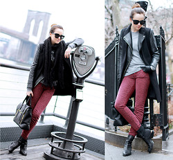 Andy T. - Current Elliot Jeans, Alexander Wang Boots - PIER 17