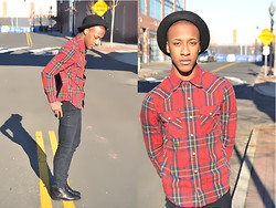 Steven Brown - Whoau Plaid Shirt - Colossians