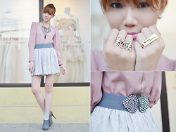 Camille Co - Fayeness Rings, Mia Casa Gold Necklace, Bubbles Tassel Necklace, Tarte Top - I Have A Dream