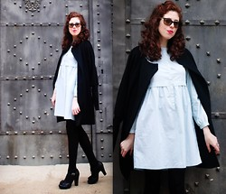 Amaia Maiu - Paul Smith Coat, Medwinds Dress, Chie Mihara Shoes - It's still winter