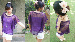 Alarilla Sisters - Forever 21 Top - Purple