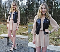 Frida Johnson - Dress, Bracelet, Vest, Shoes - SPRING IN SWEDEN
