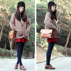 Yuki Lo - Cherrykoko Chunky Knit, Aldo Shoes - Friday look