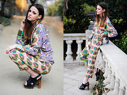 Zina CH - Marni Total Look - Marni For H&M