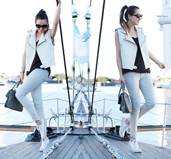 Andy T. - 7 For All Mankind Jeans, H&M Vest - THE BOAT