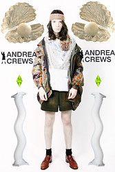 Romain Le Cam - Andrea Crews All Outfit From - AQUA BOY